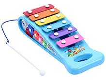 Fab N Funky Xylophone Music Marker Print - Sky Blue