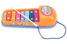 Fab N Funky Xylophone - Orange