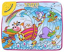 Fab N Funky Musical Play Mat Multi Color - Animal Print