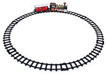 Fab N Funky Train Set - Red And Green