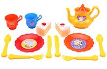Fab N Funky Tea Set Animal Print - Multi Color
