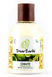 Dear Earth CoQute Firming Organic And Vegan Lotion - 150 ml