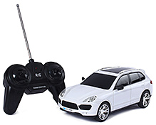 Fab N Funky Remote Control Car - White