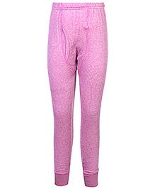 Torrido Thermal Legging Self Stripe Design - Pink