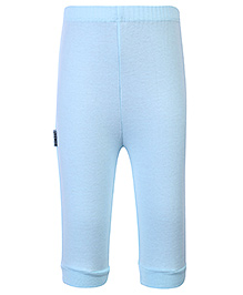 Child World Full Length Plain Legging - Aqua Blue