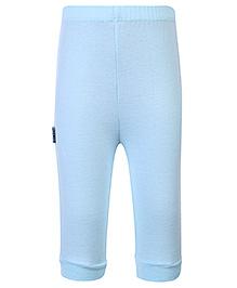 Child World Full Length Plain Legging - Aqua Blue