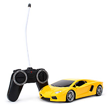 Classic Remote Control Car With Charger - Yellow
