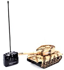 Classic Remote Controlled Tank - Dark Green