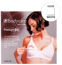 Bodycare Premium Feeding Bra - White