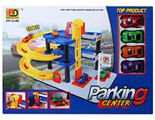 Fab N Funky Car Parking Lot Center - Multi Color