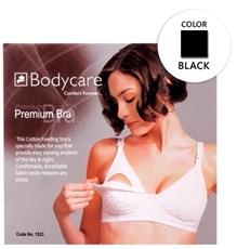 Bodycare Premium Feeding Bra - Black