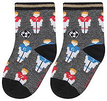 Cute Walk Ankle Length Socks Multi Print