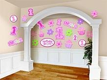 Wanna Party Sweet Little Cupcake Cutouts - Pink