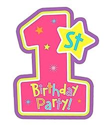 Wanna Party Invitation Card - Pink