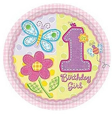 Wanna Party Hugs & Stitches Paper Plates - Set of 8