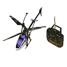 Ardaxx HY Model RC Metallic Frame Helicopter Toy