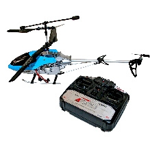 Ardaxx Remote Operated 3D Crash Safe Alloy Helicopter Toy - Red