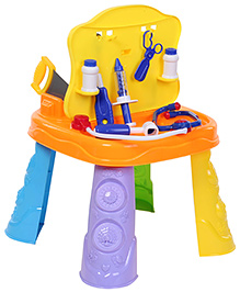 Fab N Funky 2 In 1 Tools And Doctor Set - Multicolour