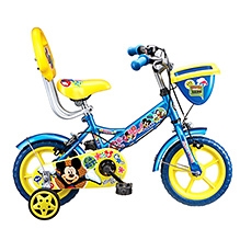 Hero Cycles Mickey Print Bicycle - 14 Inches