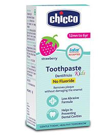 Chicco Dentifricio Toothpaste Strawberry Flavour - 50 ml
