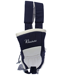 Fab N Funky Baby Carrier 2 Way - Navy Blue