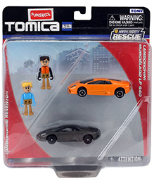 Funskool Lamborghini Reventon Murcielago With Figures - Pack Of 2
