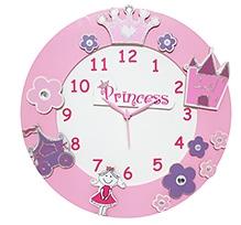 Kidoz Princess Premium Clock - Multi Color