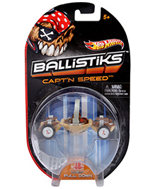 Hotwheels Ballistiks Capt n Speed Vehicle