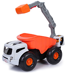 Little Tikes Monster Dirt Digger Truck - Orange