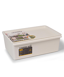 Lock And Lock Toy Storage Basket -  White