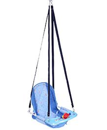 New Natraj Cozy Swing Giraffe Print - Blue
