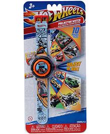 Hotwheels Wrist Watch Multicolor With Print - Length 25 cm
