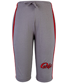 Cucu Fun Track Pant Three Fourth Length - Grey