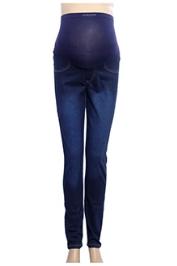 Uzazi Maternity Preggo Stretch Jeans - Dark Blue