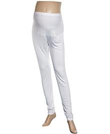 Uzazi Maternity Legging Full Length - White