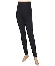 Uzazi Maternity Stretch Leggings Full Length - Black