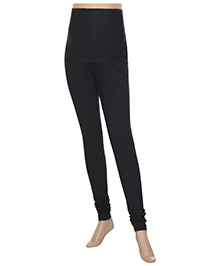 Uzazi Maternity Stretch Leggings - Black