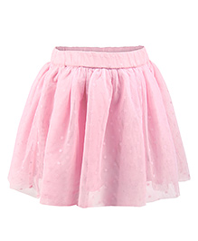 My Lil Berry Pettiskirt With Cotton Shorts - Baby Pink
