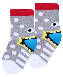 Mustang Socks Ankle Length - Grey