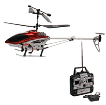 Flyers Bay Helicopter Volitation S02 - Red And Black