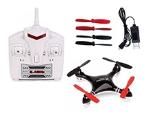Flyers Bay Hoten-X Mini Drone Quadcopter - Black And Red