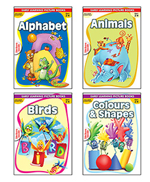 Macaw Pre-Nursery Books Set I English - Set of 4