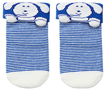 Mustang Ankle Length Socks - Blue