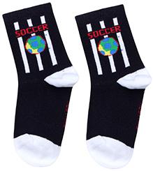 Mustang Ankle Length Socks - Black
