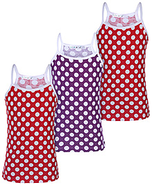 Simply Slips Singlet Multicolor - Set Of 3