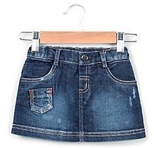 Beebay Denim Skirt - Blue