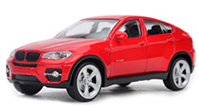 Rastar Car BMW X6 DC Scale Model - Red