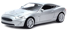 Rastar Car Jaguar XKR DC Scale Model - Silver