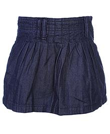 Gini & Jony Pleated Skirt - Navy Blue