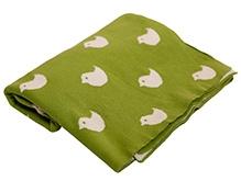 Pluchi Knitted Baby Blanket Birdies